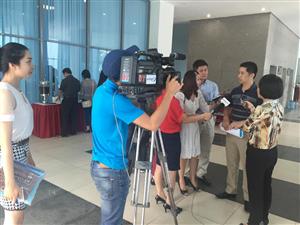 Trả lời phỏng vấn kênh truyền hình VITV