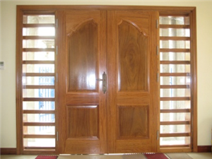 Cửa gỗ công nghiệp phủ veneer