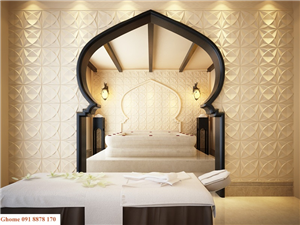 Vách trang trí khách sạn cao cấp