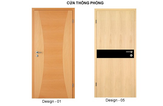 Cửa gỗ công nghiệp Family door