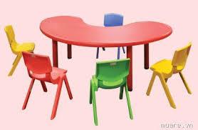 Bộ bàn ghế mẫu giáo 2