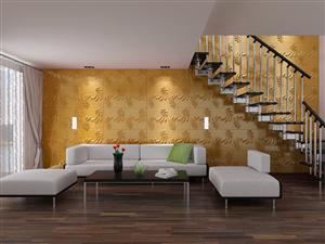Tấm ốp tường 3D nội thất châu âu