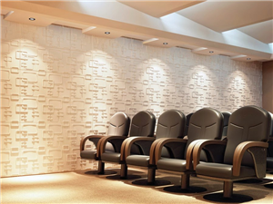 Tấm ốp tường 3D phòng họp