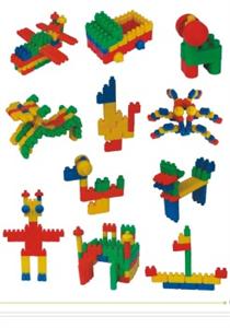 Đồ chơi xếp hình đa dạng